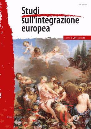 Immagine di Studi sull' integrazione europea - Anno  VI, n.1