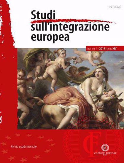 Immagine di Studi sull'integrazione europea - Anno XIV, n.1- gennaio/marzo 2019