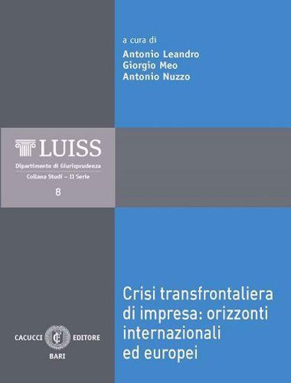 Immagine di 08 - Crisi transfrontaliera di impresa: orizzonti internazionali ed europei