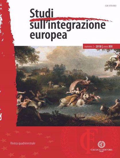Immagine di Studi sull'integrazione europea - Anno XIII, n.2