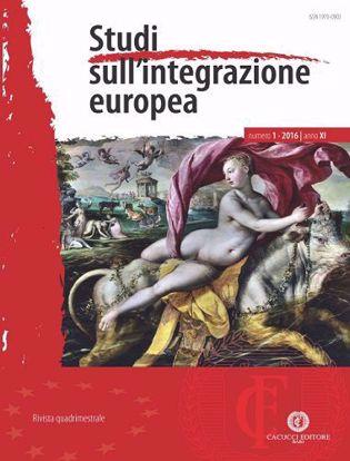 Immagine di Studi sull'integrazione europea - Anno XI, n.1
