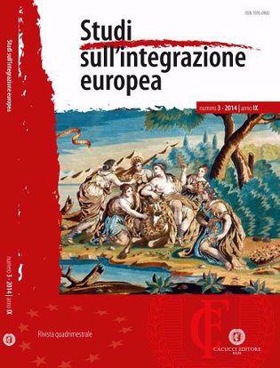 Immagine di Studi sull' integrazione europea - Anno IX, n.3
