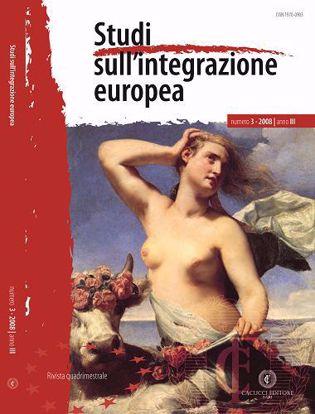 Immagine di Studi sull' integrazione europea - Anno  III, n.3