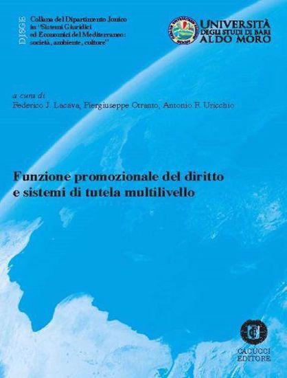 Immagine di 21 - Funzione promozionale del diritto e sistemi di tutela multilivello