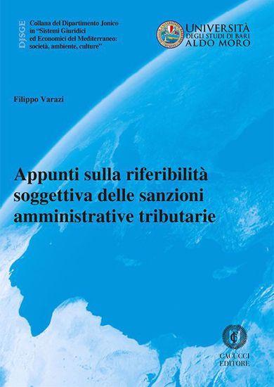 Immagine di 26 - Appunti sulla riferibilita' soggettiva delle sanzioni amministrative tributarie