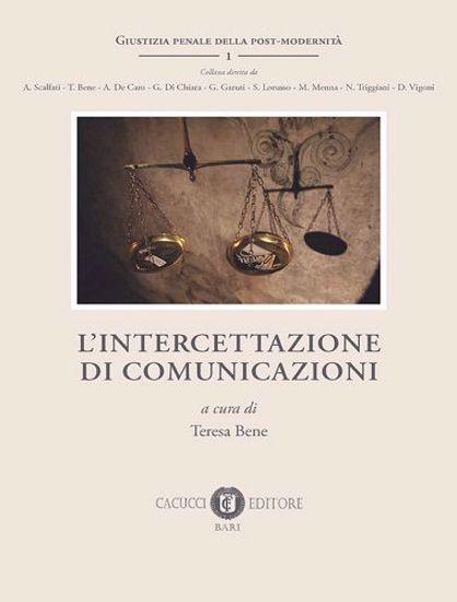 Immagine di 1 - L'intercettazione di comunicazioni