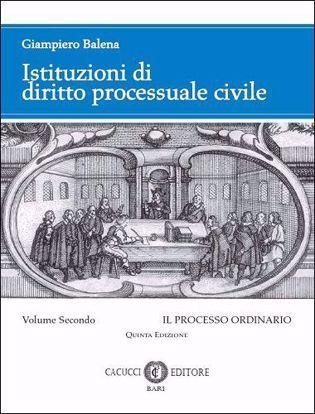 Immagine di Istituzioni di diritto processuale civile. Volume II_Quinta Edizione_2019