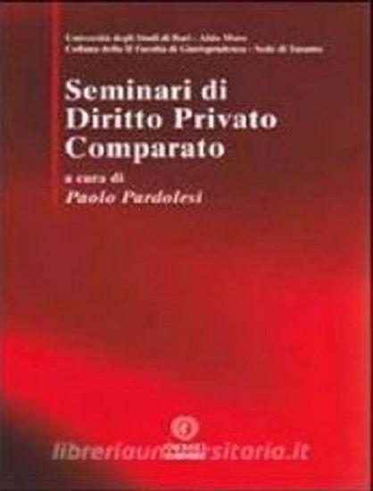 Immagine di 07 - Seminari di Diritto Privato Comparato.