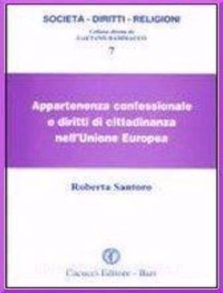 Immagine di Appartenenza confessionale e diritti di cittadinanza nell'Unione Europea