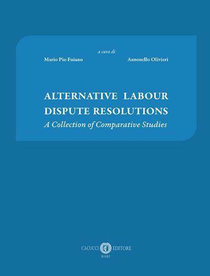 Immagine di Alternative labour dispute resolutions.