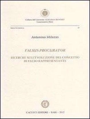 Immagine di 25 - Falsus procurator - Ricerche sull'evoluzione del concetto di falso rappresentante