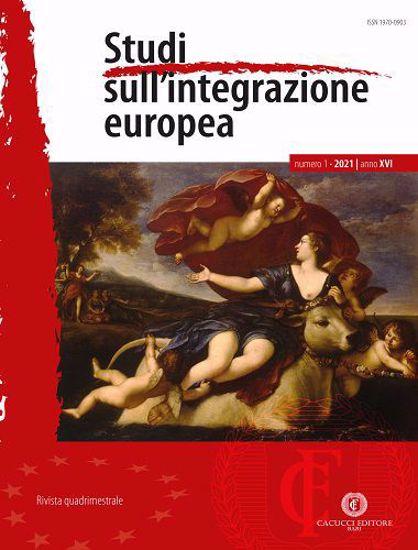 Immagine di Studi sull'integrazione europea - Anno XVI, n.1- gennaio/aprile 2021